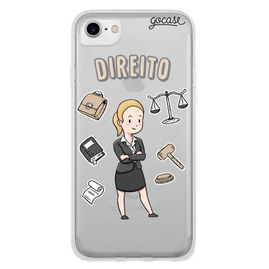 Capinha para celular Profissões - Advogada