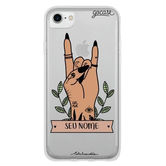 Capinha para celular Punk Personalizada