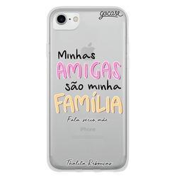 Capinha para celular Amigas são Família by Thalita Rebouças