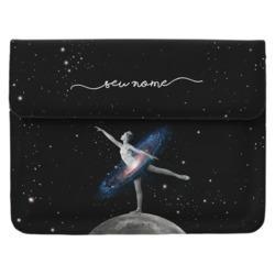 Capa para Notebook - Universo Bailarina Manuscrita