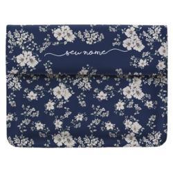 Capa para Notebook - Flores Noturnas Manuscrita