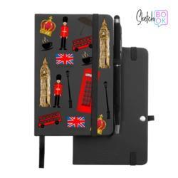 Sketchbook Black - London Things