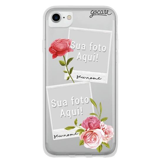 Capinha para celular Picture Floral