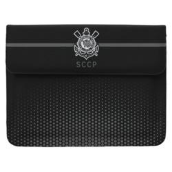 Capa para Notebook - Corinthians SCCP Black and White