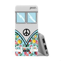 Power Bank Slim Portable Charger (5000mAh)  - Blue Kombi