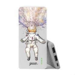 Carregador Portátil Power Bank Slim (5000mAh) - Astronauta