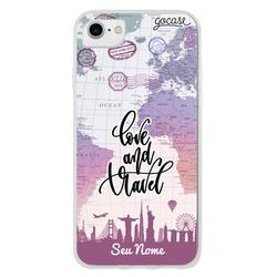Capinha para celular Love and Travel Customizada