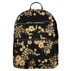 Mochila Gocase Bag - Golden Flowers Manuscrita