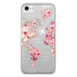 Cover World Map Golden Flowers