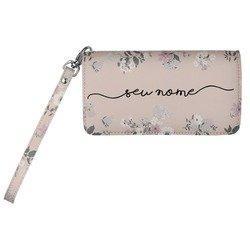 Carteira Soho Personalizada - Bem Floral Manuscrita