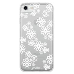 White Flowers Phone Case