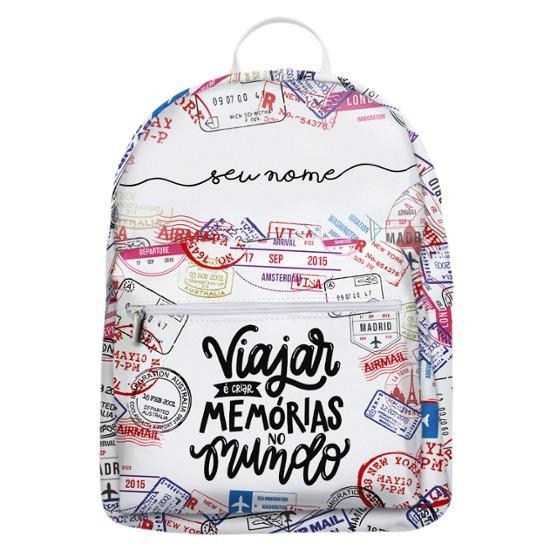 Mochila Gocase Bag - Criando Memórias Manuscrita