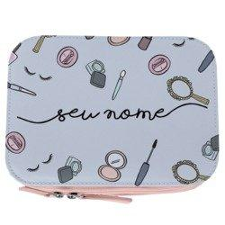 Necessaire Maquiagem - Makeup Patches Manuscrita