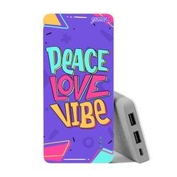 Carregador Portátil Power Bank (10000mAh) - Peace Love Vibe