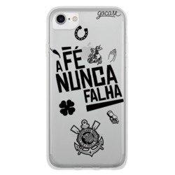 Capinha para celular Corinthians - Fé Nunca Falha