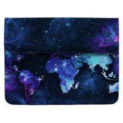 Capa para Notebook - Mapa Mundi Universo Manuscrita