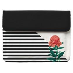 Capa para Notebook - Flor Listrada Manuscrita