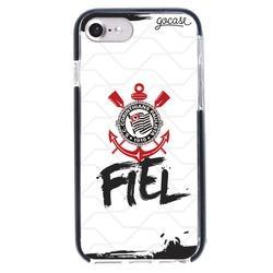 Capinha para celular Anti-Impacto PRO - Corinthians - Fiel