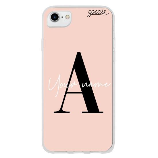 Fancy Initials Rosé Phone Case