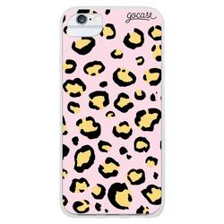 Animal Print Full - Rose and Yellow Phone Case