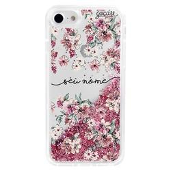 Capinha para celular Flow - Flores Rosê