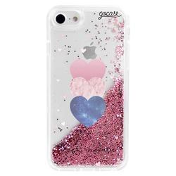 Capinha para celular Flow - Fancy Hearts Clean Customizável