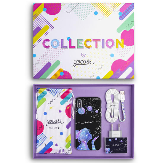 Kit Stardust Handwritten (Case + wall charger + cable + collection box)