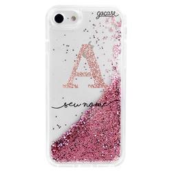 Glitter Flow - Initials Glitter Phone Case