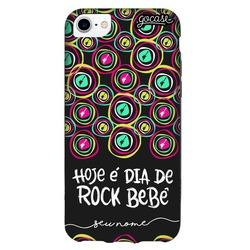 Capinha para celular Color Black - Rock in Rio - Dia de Rock