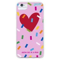 Funny heart pink Phone Case