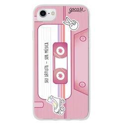 Capinha para celular Trilha Sonora Pink