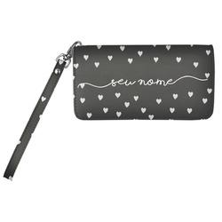 Carteira Soho Personalizada - White Hearts Manuscrita