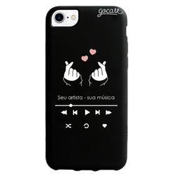 Capinha para celular Black Case - Kpop Player
