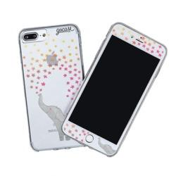 Kit Elephant Stars (Skin Custom White + Case)