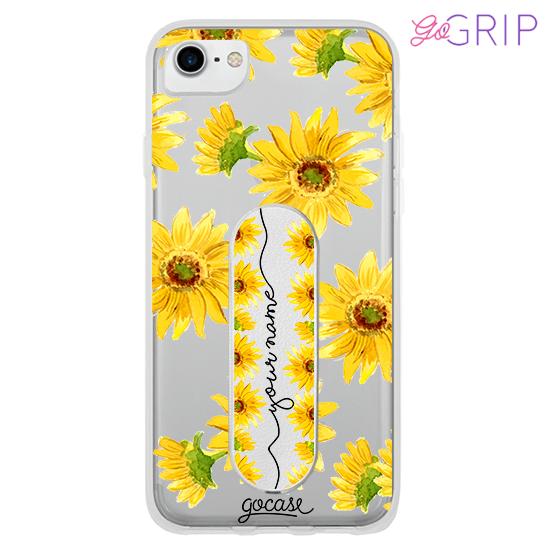 Kit Sunflower Handwritten (Case + GoGrip)