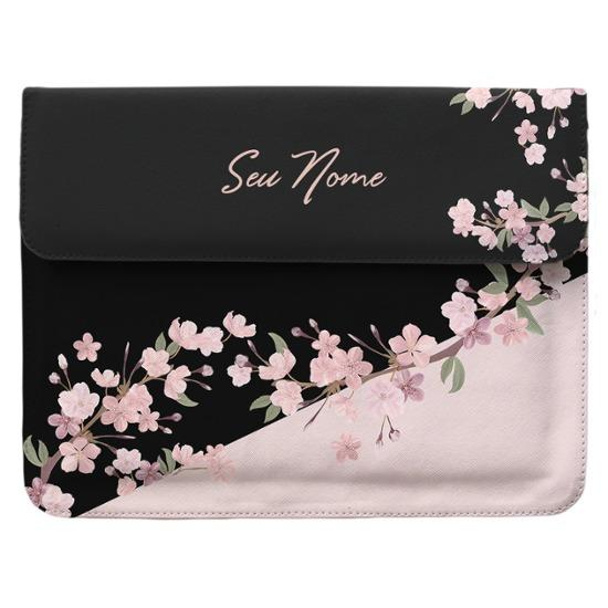 Capa para Notebook Personalizada - Classical Rosê Black