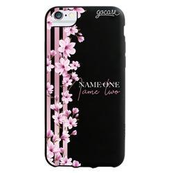 Black Case - Floral Lines Handwritten Phone Case