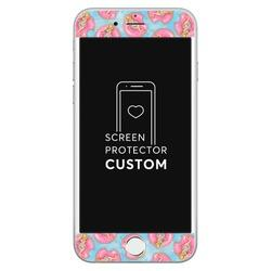 White Screen Protector Tempered Glass - Summer Girl - Summer Collection