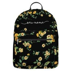 Mochila Gocase Bag Personalizada - Próprio Sol Black Manuscrita