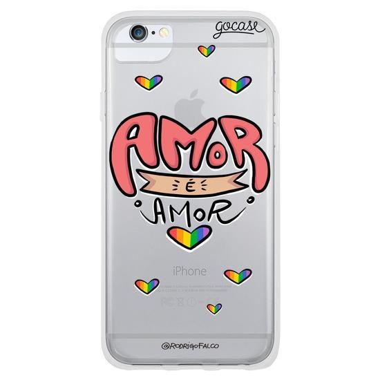 Capinha para celular Amor é Amor