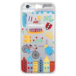 Amsterdam patches Phone Case