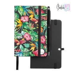 Sketchbook Black - Tropical Forest