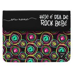 Capa para Notebook - Dia de Rock Manuscrita