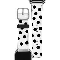 Apple Watch Band - Black Circles