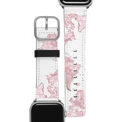 Apple Watch Band - Pink Map