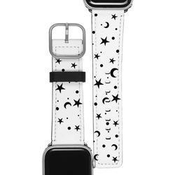 Apple Watch Band - Black Stars