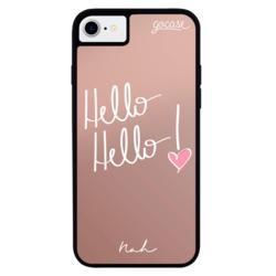 Capinha para celular Metallic - Hello Hello by Nah Cardoso