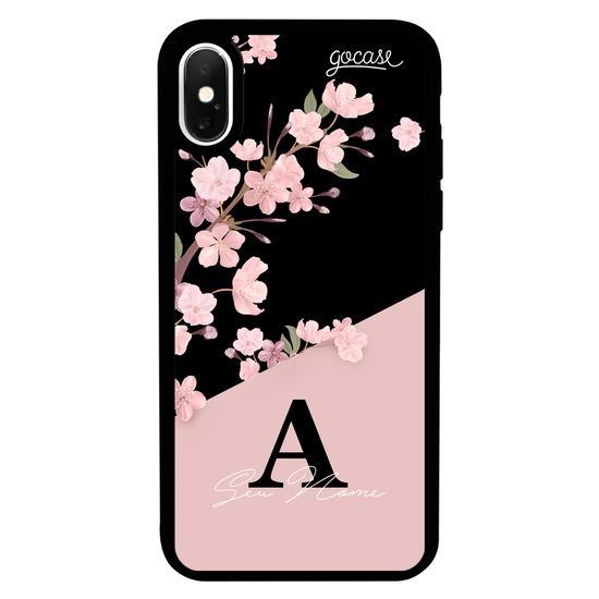 Capinha para celular Prime - Classical Rose Black Customizável