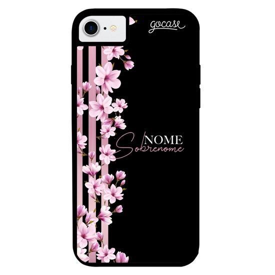 Capinha para celular Prime - Floral Lines Personalizada