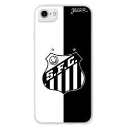 Capinha para celular Santos - Preto e Branco